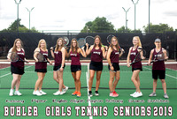 {BHS Tennis Girls} 2019