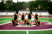 {BHS Dressy Cheer 2020} Team and Grade portraits