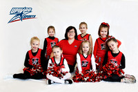 UpWard Sports 2013 - Peppers Cheer Team