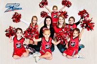 UpWard Sports 2013 - Fever Cheer Team