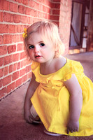 {Lovely in Yellow} Khloe is 18 months old